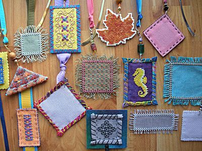 Stitching for Literacy, Funk & Weber Bookmarks 101 online class