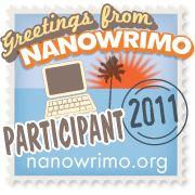 NaNoWriMo 2011 Participant icon
