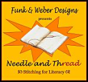 Needle and ThREAD: Stitching for Literacy logo
