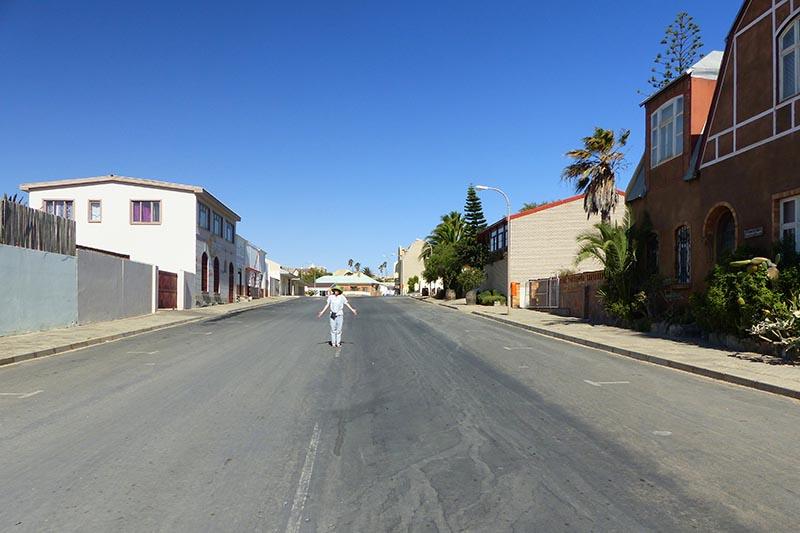 Sunday in Luderitz, Namibia