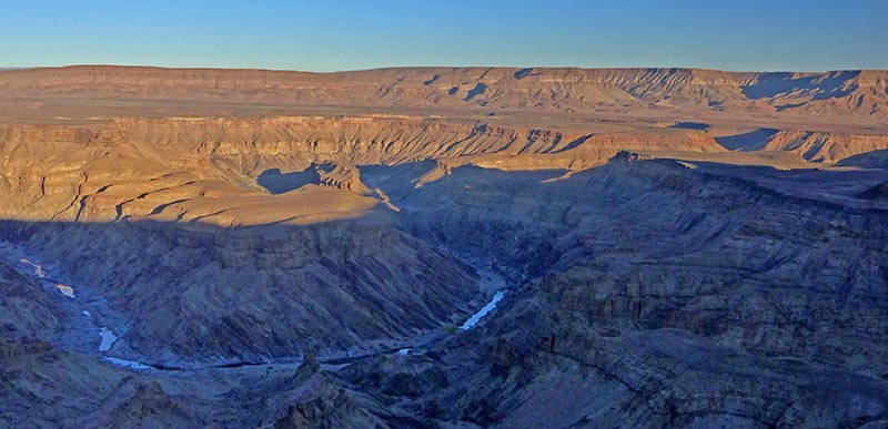 Fish River Canyon Sunrise, Namibia