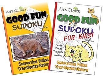 Trap-Neuter-Return Sudoku Books