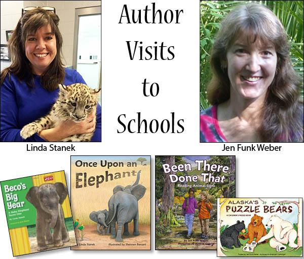 Jen Funk Weber Author Visits with Linda Stanek