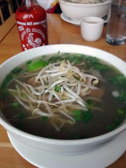 Pho: One of David Lubar's Favorite Foods