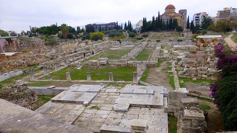 The Pompeiion in Kerameikos, Athens - Jen Funk Weber