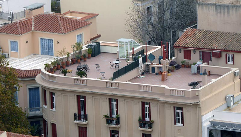 Rooftop and balcony gardens in Athens - Jen Funk Weber