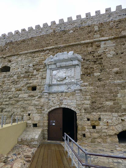 Fortress entrance, Heraklion, Crete, Greece - Jen Funk Weber