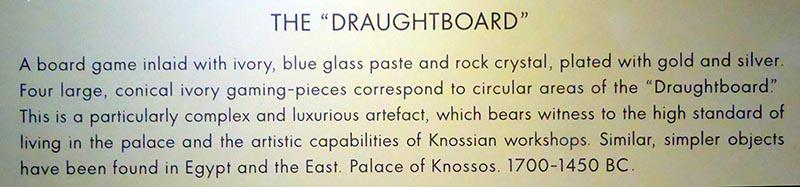 Gameboard details, Heraklion Museum, Crete, Greece - Jen Funk Weber