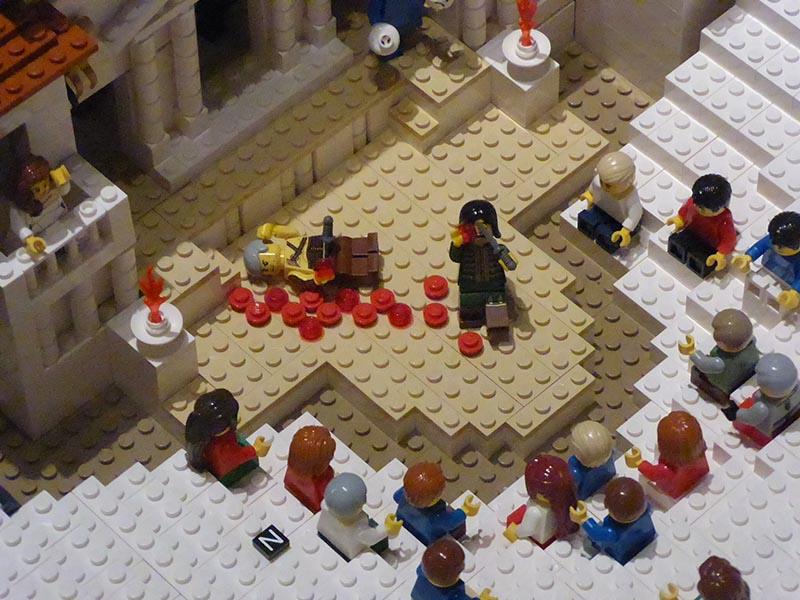 Lego Oedipus Rex, Acropolis Museum - Jen Funk Weber