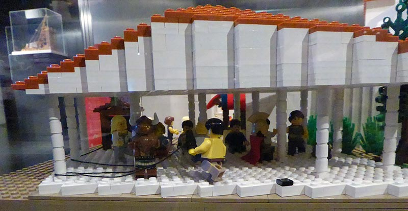 Lego Story of Theseus - Jen Funk Weber