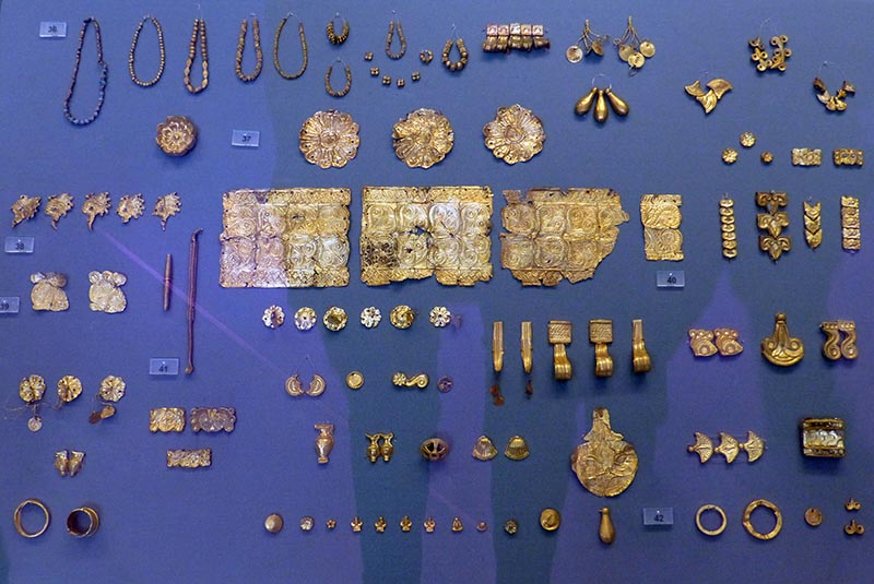 More Mycenean Gold, National Archaeological Museum, Athens