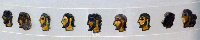 Mycenaean Profiles, National Archaeological Museum, Athens
