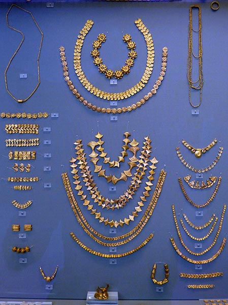 Mycenean Gold, National Archeological Museum, Athens