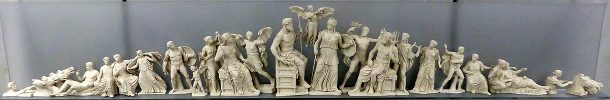 Parthenon pediment replica - Jen Funk Weber
