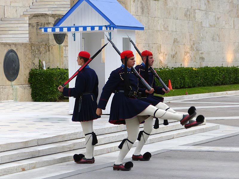 Evzones Presidential Guard change