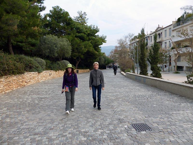 Promenade, Athens, Greece - Jen Funk Weber