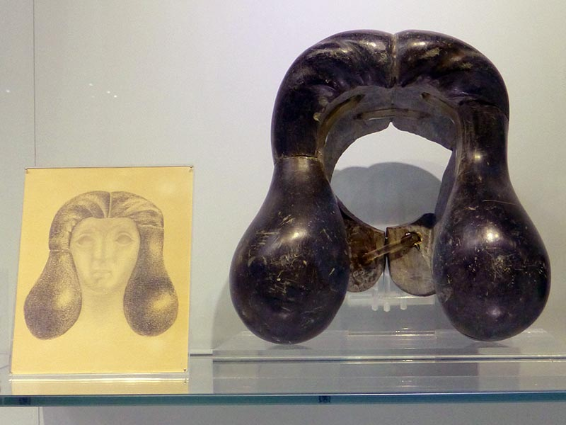 Rock wig, Heraklion Museum, Crete, Greece - Jen Funk Weber
