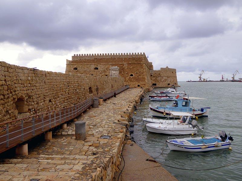 Venetian Fortress, Heraklion, Crete, Greece - Jen Funk Weber