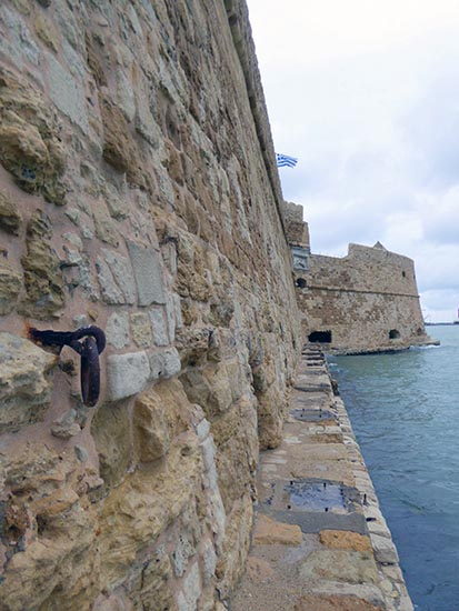Wall of Venetian Fortress, Heraklion, Crete, Greece - Jen Funk Weber