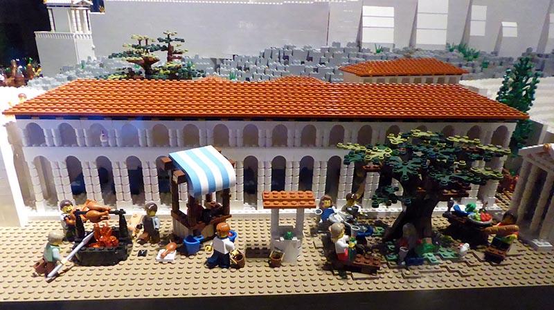 Lego Acropolis Stoa - Jen Funk Weber