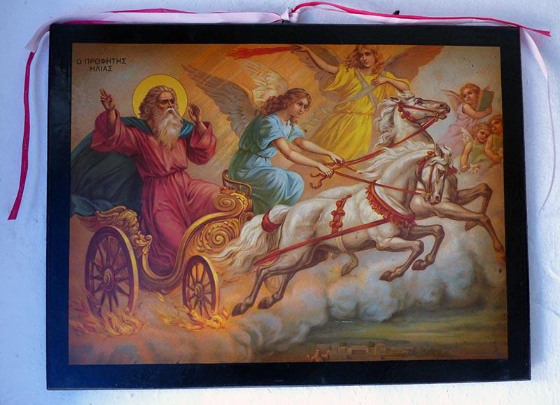 Prophet Elijah, Aghios Elias, Leros - Jen Funk Weber
