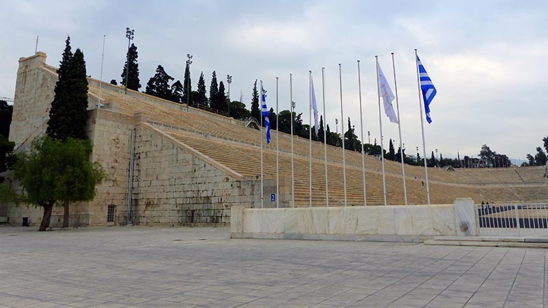 Kallimarmaro Stadium, Athens - Jen Funk Weber