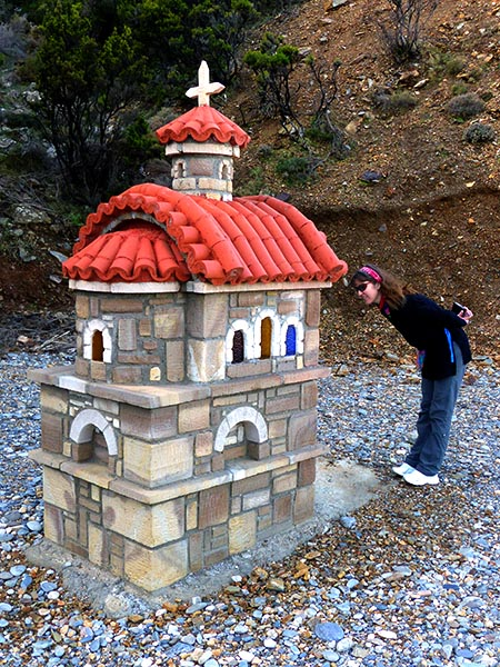 Grand roadside shrine, Crete - Jen Funk Weber